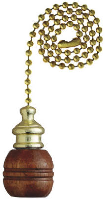 """""""12"""""""" Wal Ball Pull Chain"""" - Woods Hardware"""