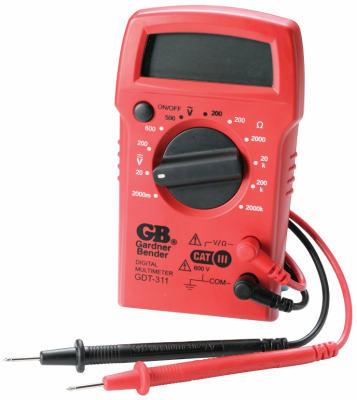 3Func DGTL Multimeter - Woods Hardware