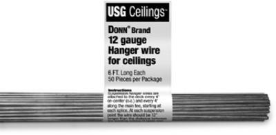50PK 6%27 12GA Hang Wire