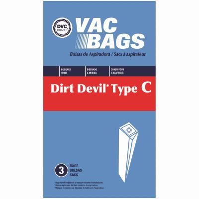 3PKDirt Devil C Vac Bag