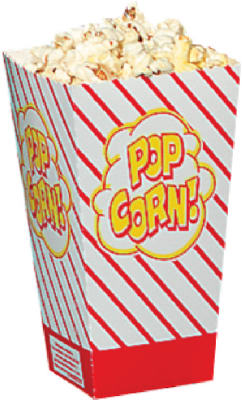 500CT 8OZ Popcorn Box