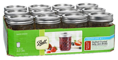 Ball 12PK 8OZ Jelly Jar