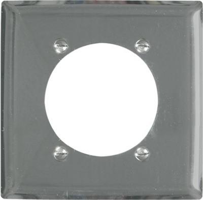 "2G 2.49"" CHR Wall Plate"