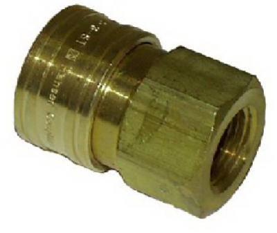 3/8 Fx3/8 FPT QC Socket