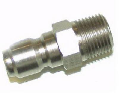3/8 Mx3/8 MPT QC Plug