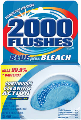 BLU/Bleach 2000 Flushes