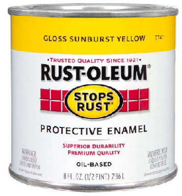 1/2PT YEL Stops Rust