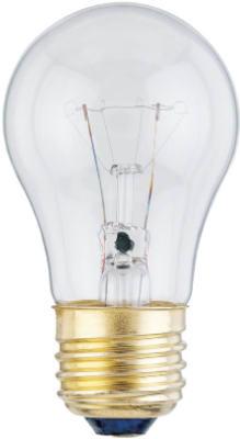 2PK 15W A15 CLR Bulb
