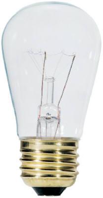11W CLR Sign LGT Bulb