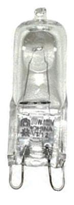 25W G9 CLR Halo Bulb