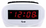0.6 LED WHT Alarm Clock