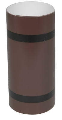 10x10 WHT/BRN Trim Coil