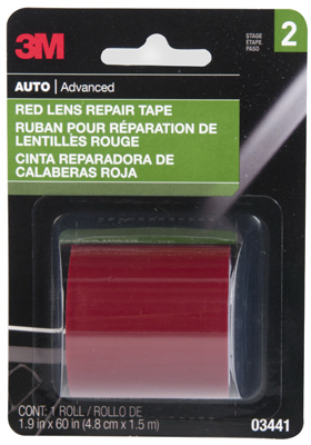 1-7/8x60 RED Lens Tape