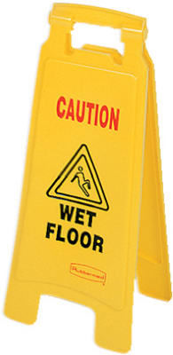 Caution Wet Floor Sign - Woods Hardware