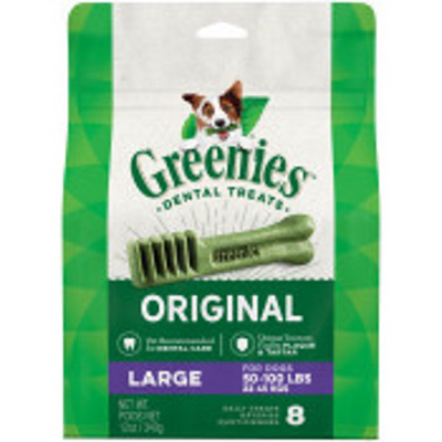 12OZ LG Green Treat Pak
