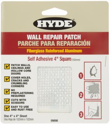 4x4 ALU Drywall Patch