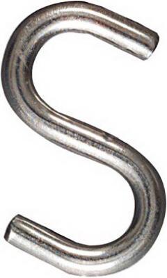 1-1/2 SS Open S Hook