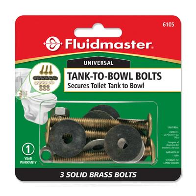 3 Bolt Tank To Bowl Kit