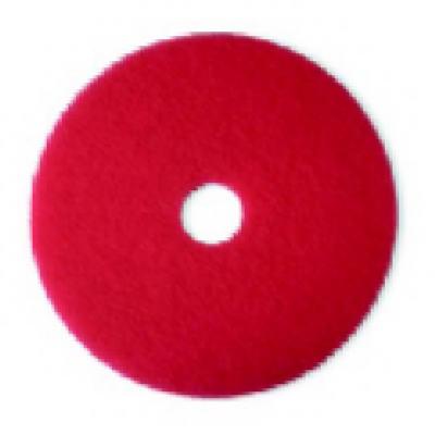 """17"""" RED Buff FLR Pad"""