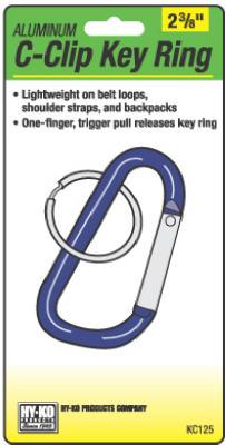 SM C-Clip Key Ring