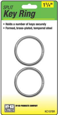 "2PK1-1/4""BRS Split Ring"