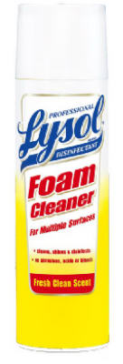 24OZ Lysol Foam Cleaner