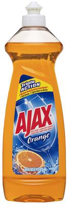 14OZ Ajax ORG Dish Soap