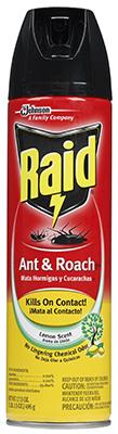 Raid17.5OZ Roach Killer