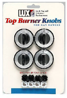 4PK BLK Gas Burner Knob