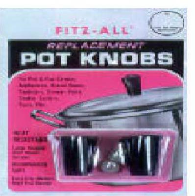 2PK Tall Pot Knob