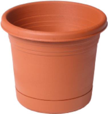 "10"" TC Roll Rim Planter"
