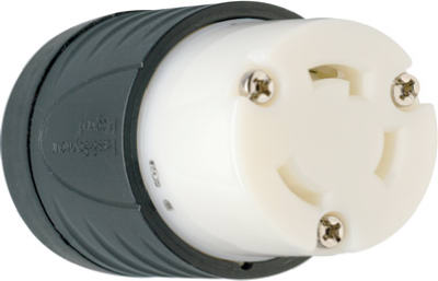 30A BLK/WHTConnector - Woods Hardware