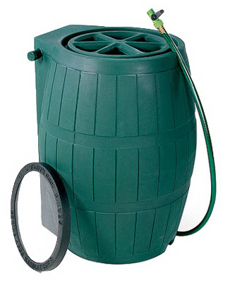 54GAL GRN Rain Barrel