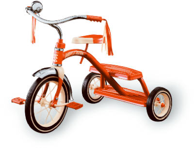 "12"" Class RED Tricycle"