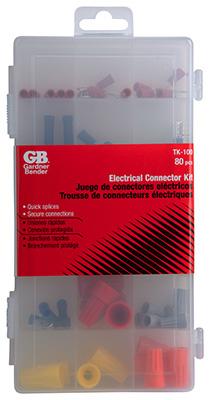 80PC Wire Conn ASST