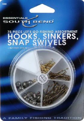 75PC Hook/Sinker ASST