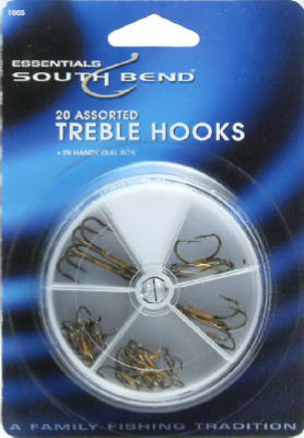 20PC Treble Hook ASSTD