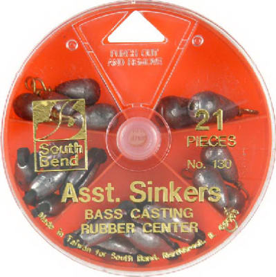 28PC Bass Cast Sinker