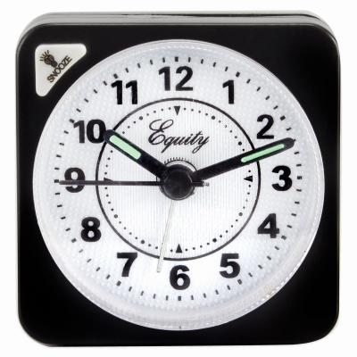 BLK QTZ CubeAlarm Clock