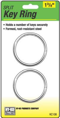 "2PK1-3/8""Split Key Ring"