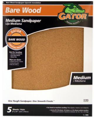 5PK GNT 100G Sandpaper