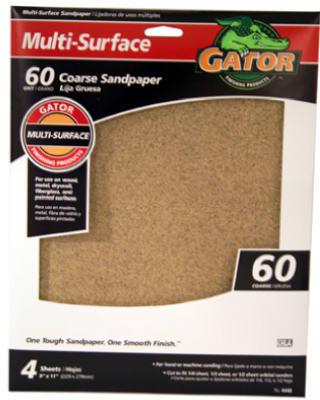 4PK 9x11 60G Sandpaper