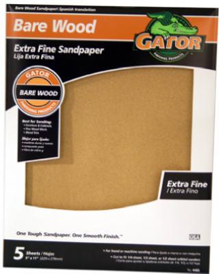 5PK GNT 220G Sandpaper