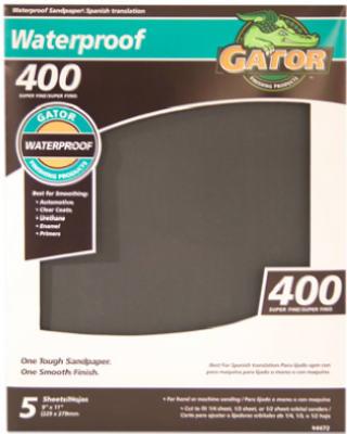 5PK 9x11 400G Sandpaper