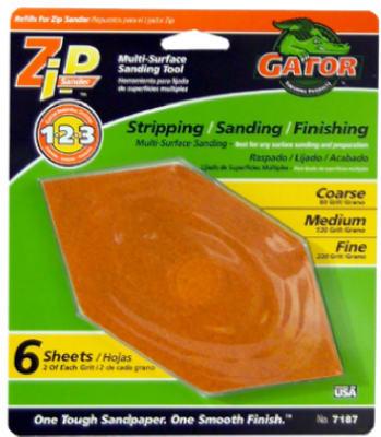 6PK ASSTD Sand Sheet