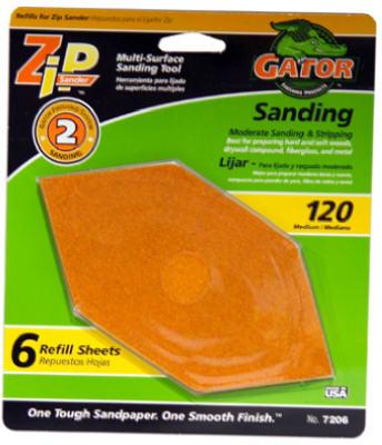 6PK 120G Sand Sheet