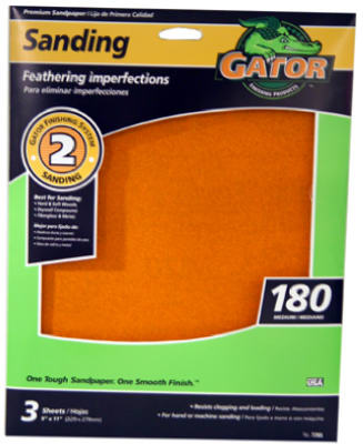 3PK9x11 180G Sand Sheet