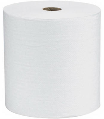 12PK 800WHT Roll Towel