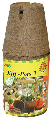 "10PK 3"" RND Jiffy Pot"