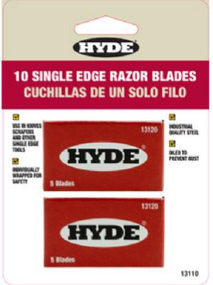 10PK SGL Edge Blades